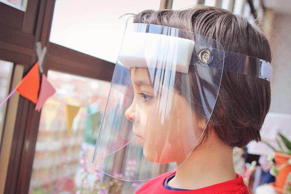 Écran facial de protection
