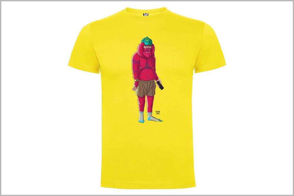 "Camiseta unisex ""Yeti #1"", de Pedro García"