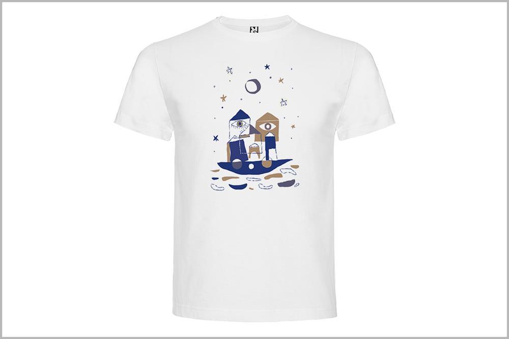 "Camiseta unisex ""Barco"" de Laura GBécares"