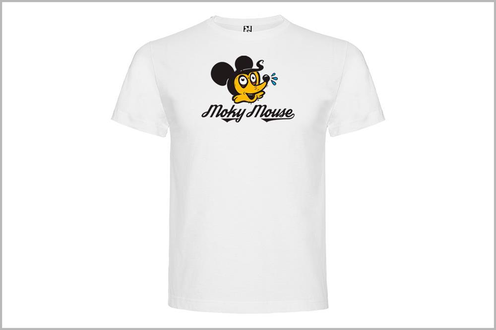 """Camiseta unisex """"Moky Mouse"""", de Óscar Rubio"""