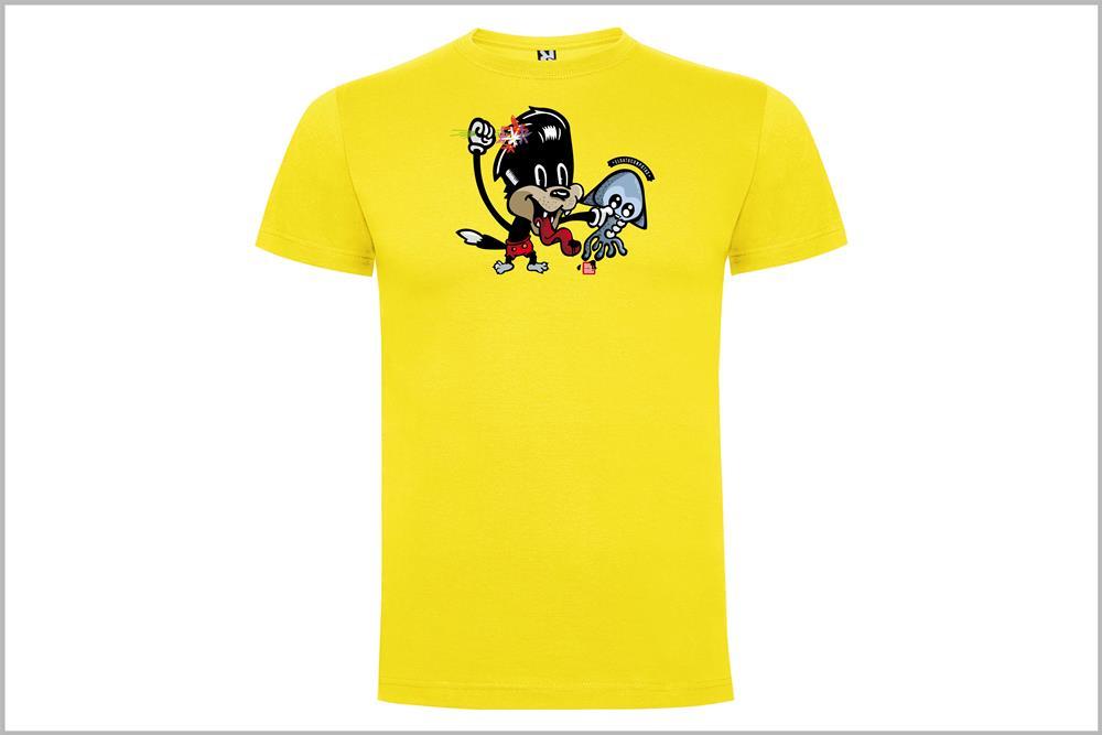 """Camiseta unisex """"El gato con Potas"""", de Pablo Jeje"""