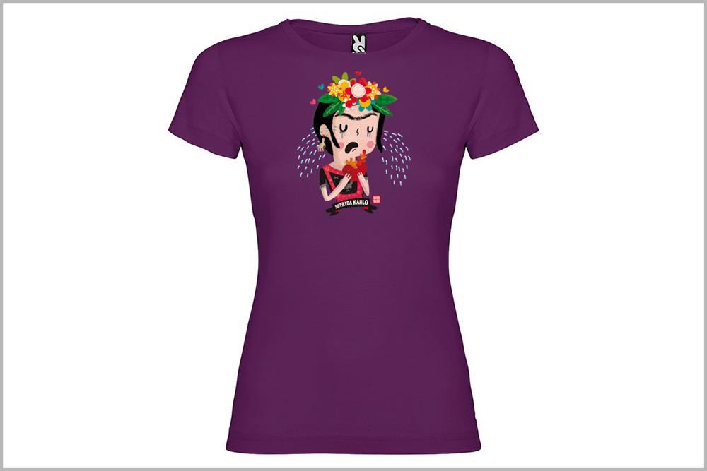 """Camiseta de mujer """"Sufrida Kahlo"""", de Pablo Jeje"""
