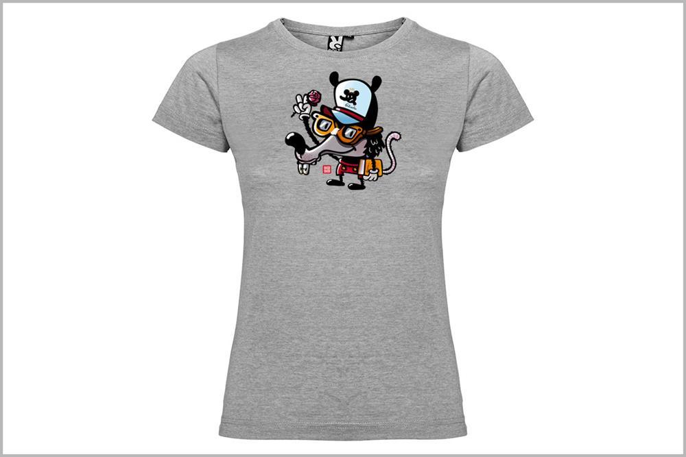 """Camiseta de mujer """"Friky Mouse"""", de Pablo Jeje"""