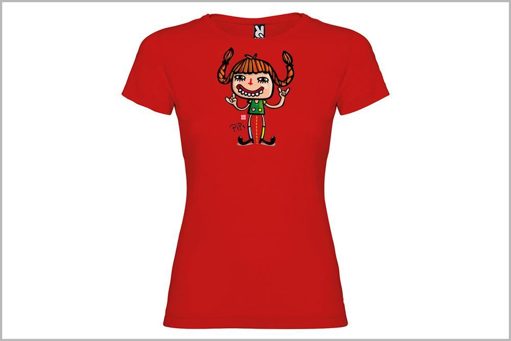 """Camiseta de mujer """"Pipí"""", de Pablo Jeje"""