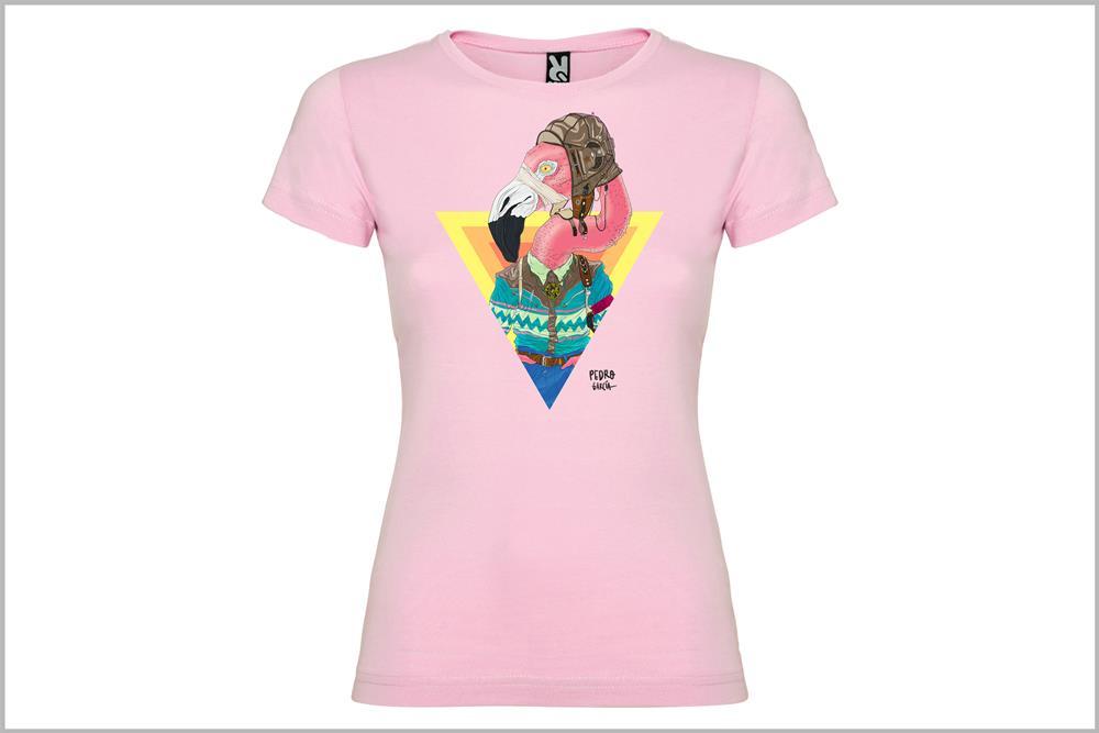 """Camiseta de mujer """"Estoy flamenca"""" de Pedro García"""