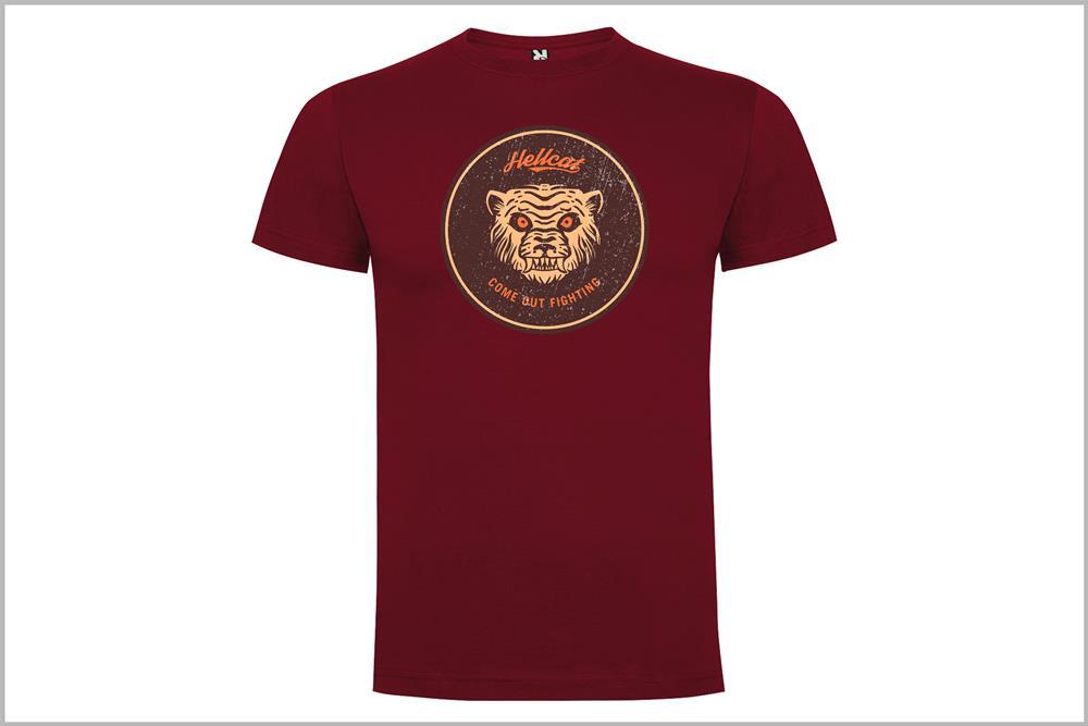 "Camiseta unisex ""Hellcat mod.1"", de Óscar Rubio"