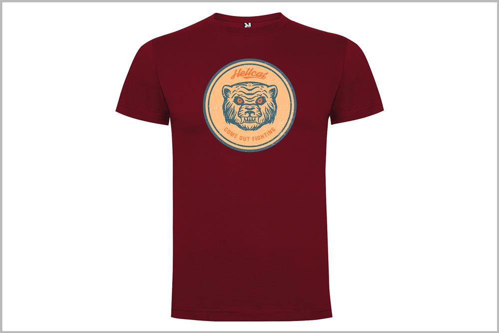 "Camiseta unisex ""Hellcat mod.2"", de Óscar Rubio"