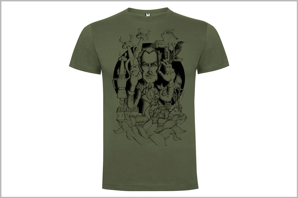 "Camiseta unisex ""Vincent Price"", de Daniel Buitrón"