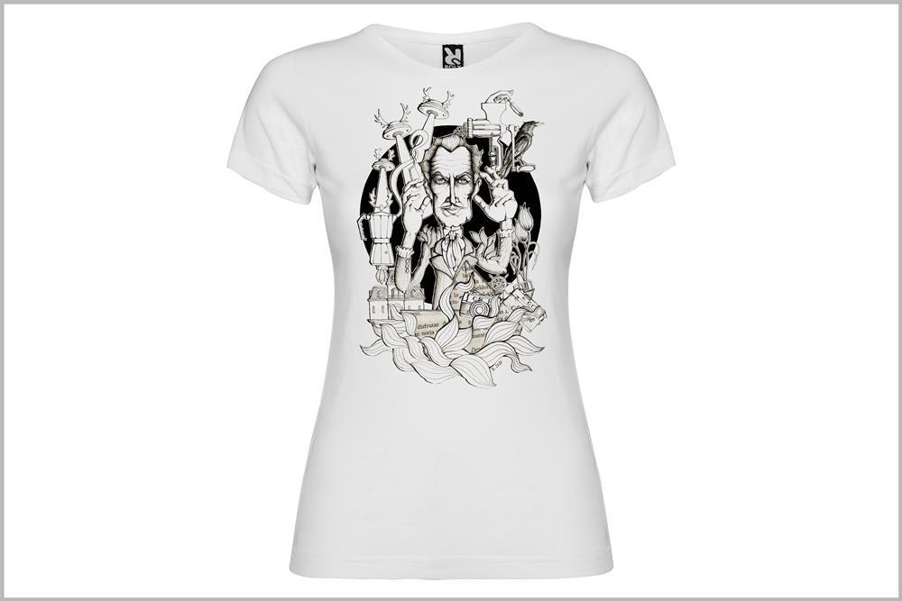 """Camiseta de mujer """"Vincent Price"""", de Daniel Buitrón"""