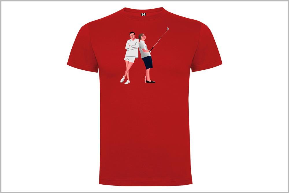 "Camiseta unisex ""Funny Games"" de Juan Barrero"