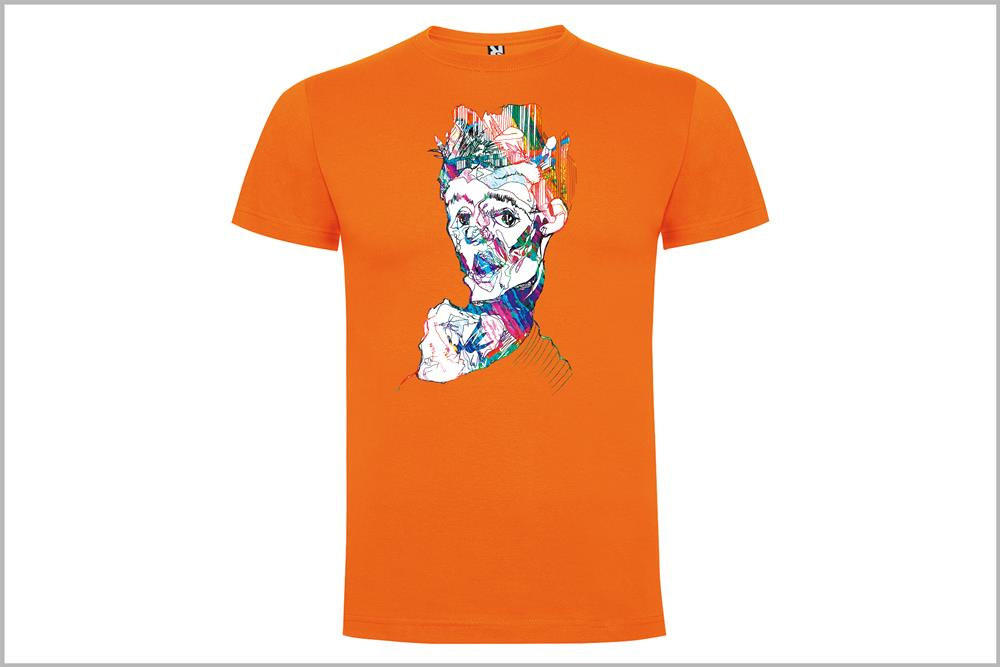 """Camiseta unisex """"Schiele"""" de Sara Potxemutxka"""