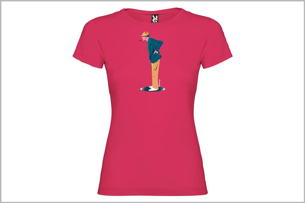 """Camiseta de mujer """"Tati"""", de Juan Barrero"""
