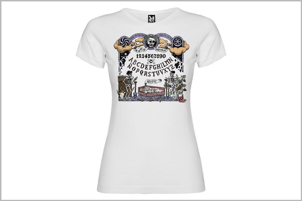 """Camiseta de mujer """"Tabreiru d'ánimas"""" de Don Ricardo"""