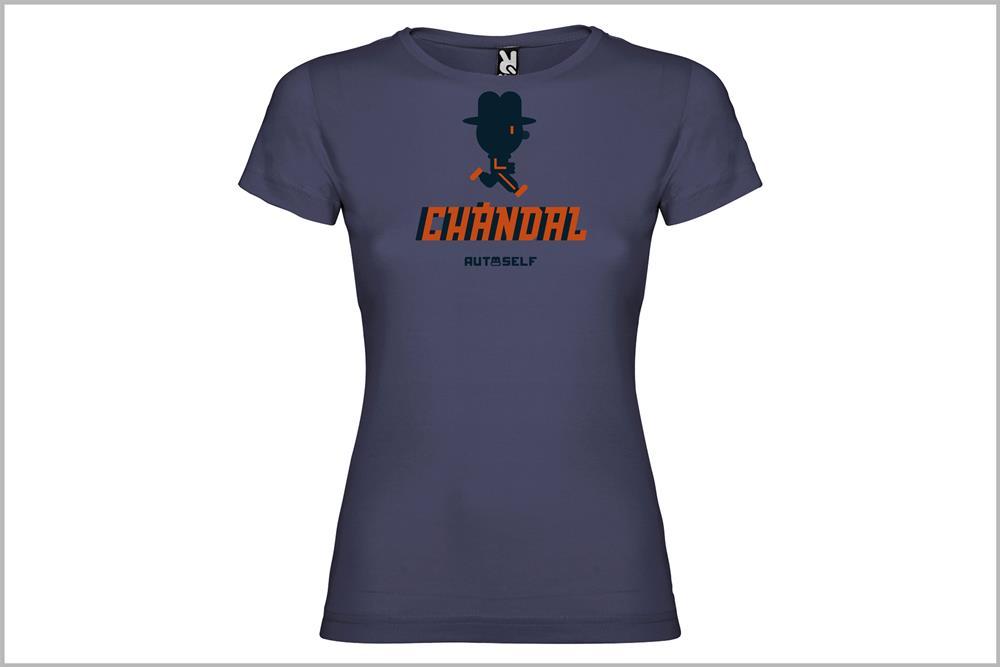 "Camiseta de mujer ""Deprisa"", de Javier Cardo"