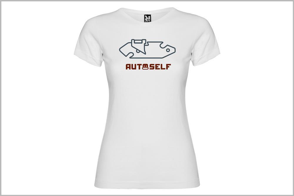 """Camiseta de mujer """"Exploradora"""", de Javier Cardo"""