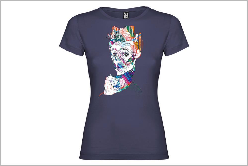 """Camiseta de mujer """"Schiele"""", de Sara Potxemutxka"""