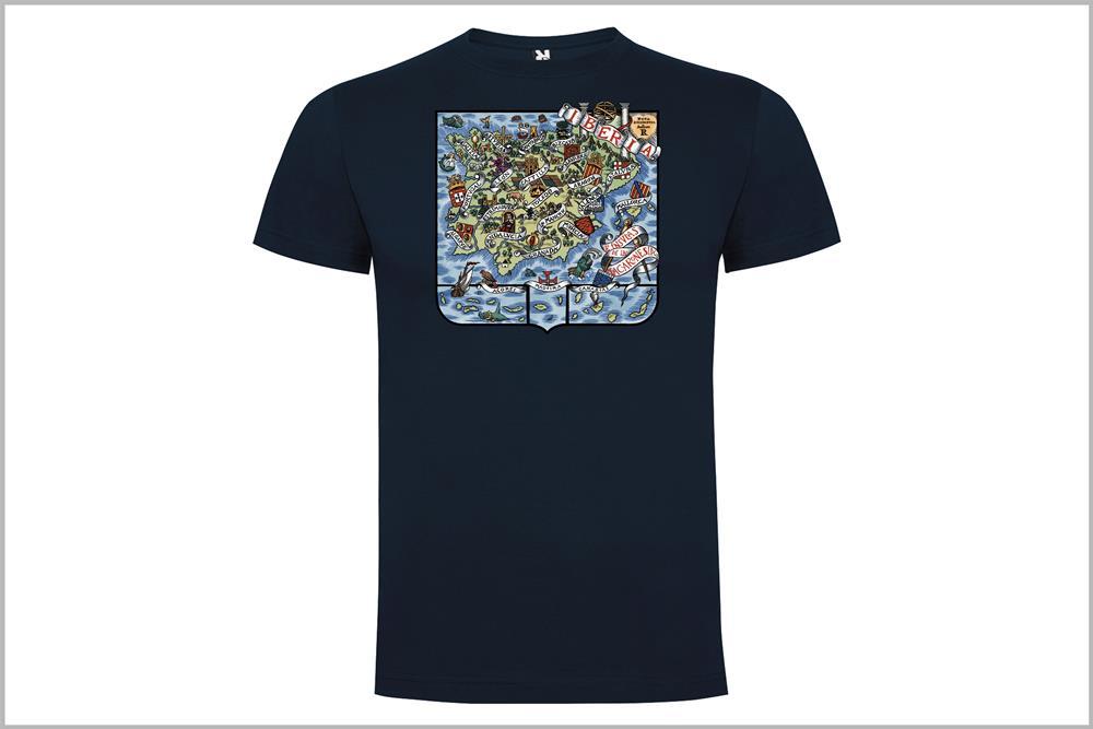 """Camiseta unisex """"Iberia"""" de Don Ricardo"""