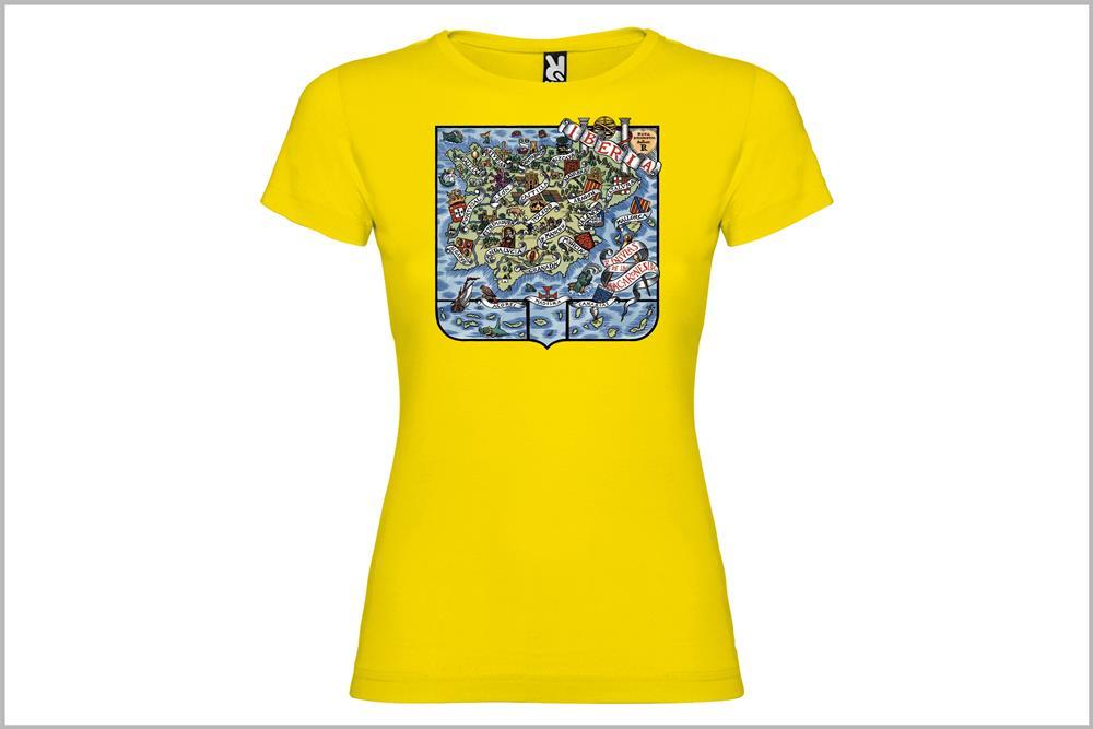 """Camiseta de mujer """"Iberia"""" de Don Ricardo"""