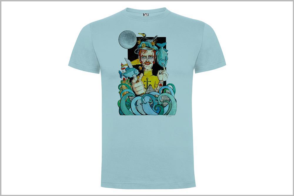 "Camiseta unisex ""Marinero"", de Daniel Buitrón"