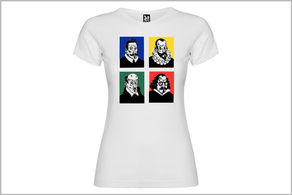 """Camiseta de mujer """"Siglo de Oro"""""""" de Don Ricardo"""
