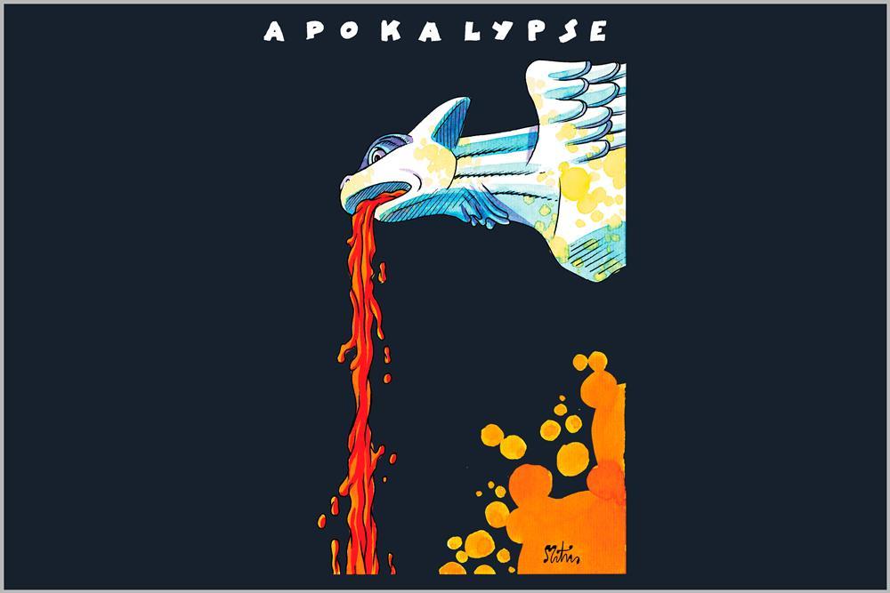 """Camiseta de mujer """"Apokalypse"""", de Miguel Ángel Martín"""