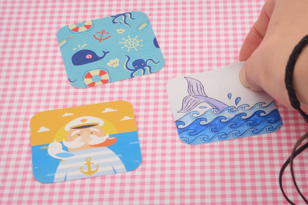 square paper stickers