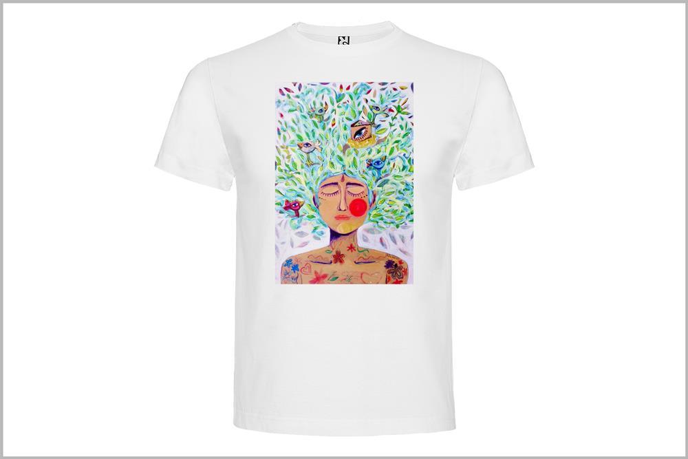 """Camiseta unisex """"Ombrosa"""" de Laura GBécares"""