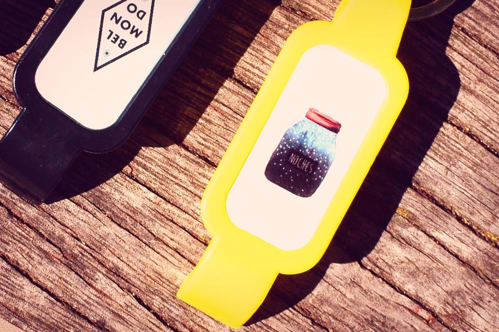 """bottle opener keyrings """"Kolor"""""""