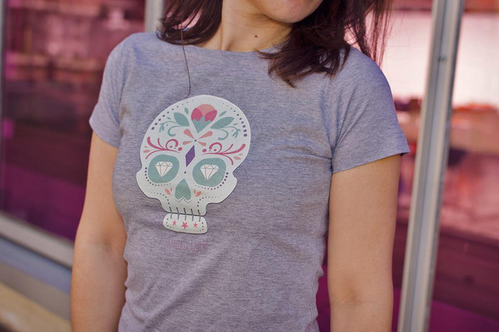 Textil-Direktdruck T-Shirts (DTG) für Damen