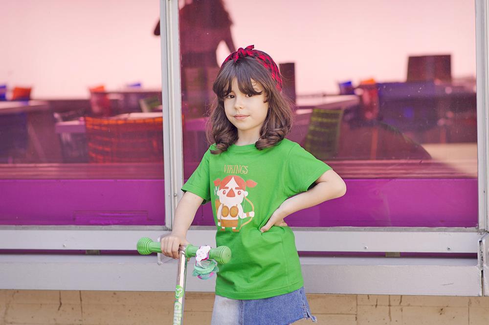 impresión de camisetas para niños