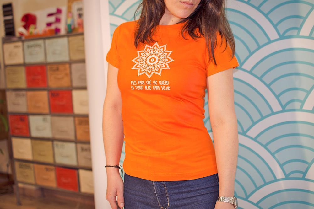 camisetas de mujer serigrafiadas