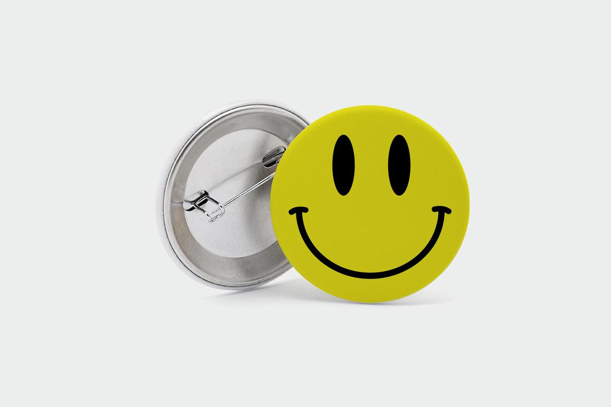 Imagen de Chapas emblemáticas: El Smiley