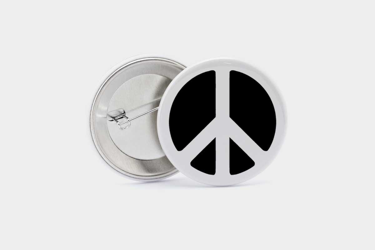Imagen de Chapas emblemáticas: El símbolo de la paz