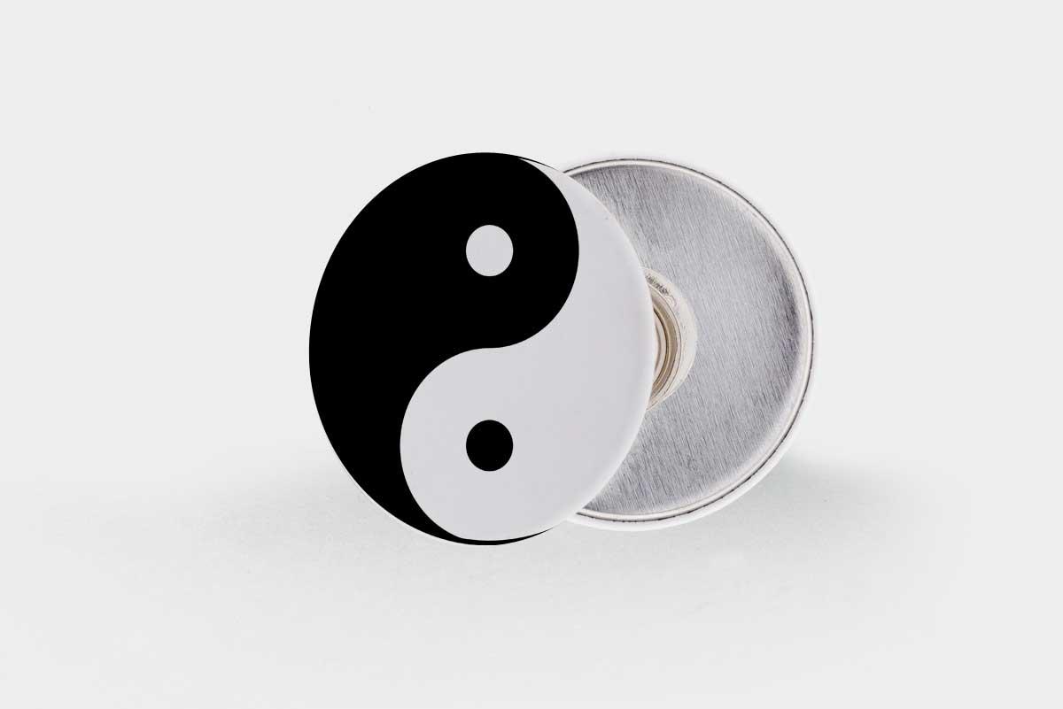 Imagen de Chapas emblemáticas: El Yin y el Yang