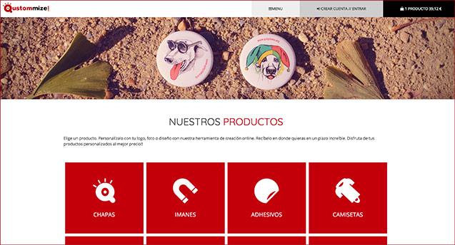 Imagen de Tu nueva web de productos personalizados