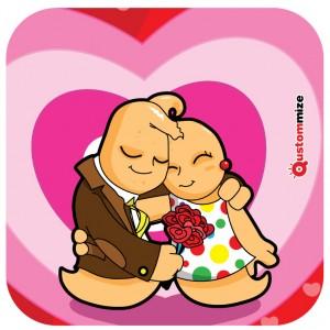 Imagen de  I concurso de ilustración de San Valentín Jon&Elma